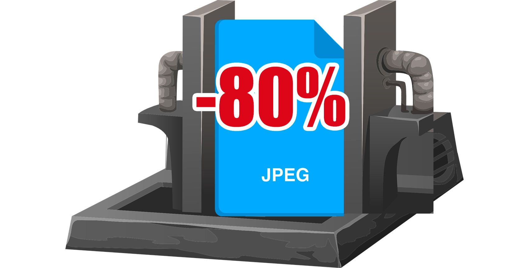Make jpeg smaller.
